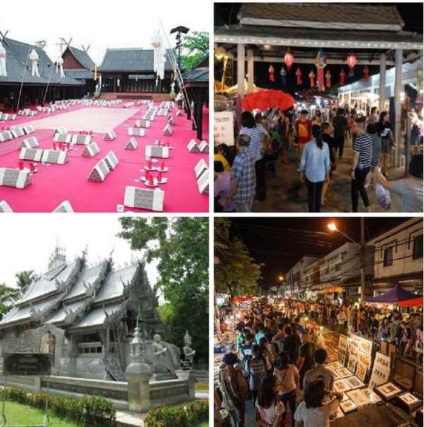 Chiang Mai Wualai Attractions